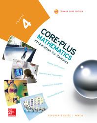 Core-Plus Mathematics, Course 4, Teacher Guide, Volume B