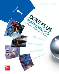 Core Plus Mathematics, Course 1, Student Edition