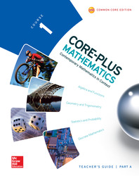 Core-Plus Mathematics, Course 1, Teacher Guide, Volume A
