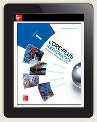 Core-Plus Mathematics Course 1, eTeacher Edition 1-year subscription