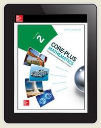 Core-Plus Mathematics Course 2, eTeacher Edition 6-year subscription