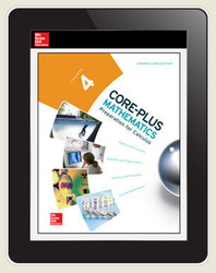 Core-Plus Mathematics Course 4, eTeacher Edition 6-year subscription