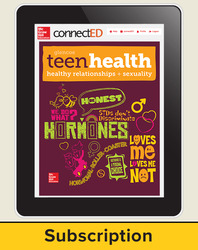 Teen Health Teacher Access with Healthy Relationships and Sexuality, 1-year Subscription