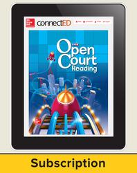Open Court Reading Grade 3 Teacher License, 3-year subscription