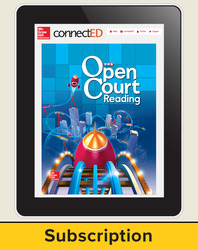 Open Court Reading Grade 3 Teacher License, 1-year subscripton