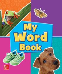 World of Wonders Grade Pre-K My Word Book