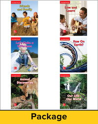 Wonders Decodable Reader Package (6 each of 6), Grade 2