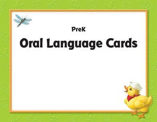 World of Wonders Grade Pre-K Oral Language Card Set
