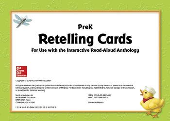 World of Wonders Grade Pre-K Retelling Cards
