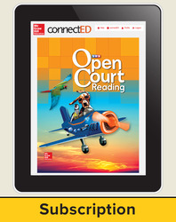 Open Court Reading Grade 1 Teacher License, 3-year subscription