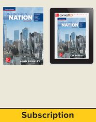 Brinkley, The Unfinished Nation: A Concise History of the American People © 2016 8e, Student Bundle, 1-Year Subscription (Student Edition with ConnectED eBook)