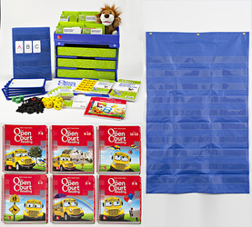 Open Court Reading Grade K Complete Digital and Print Classroom Package, 6-year subscription
