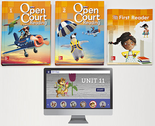 Open Court Reading Grade 1 Student Digital and Print Standard Package, 6 year subscription