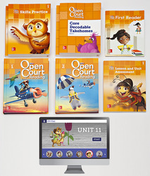 Open Court Reading Grade 1 Student Digital and Print Comprehensive Package, 6-year subscription
