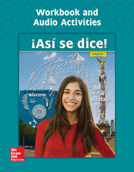Asi se dice! Level 1, Workbook and Audio Activities
