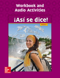 Asi se dice! Level 4, Workbook and Audio Activities