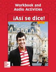 Asi se dice! Level 2, Workbook and Audio Activities