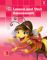 Open Court Reading Lesson and Unit Assessment, Book 1, Grade K