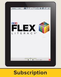 FLEX Literacy Teacher Subscription, Secondary, 6-year