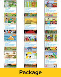 Inspire Science Grade K, Spanish Paired Read Aloud Class Set, 1 Each of 12 Books (2 titles, 6 modules, 1 copy)