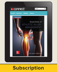 Essentials of Athletic Injury Management, eBook, 1 yr Subscription