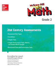 MH My Math 21st Century Assessment Grade 2
