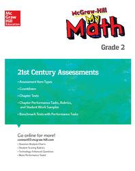 MH My Math 21st Century Assessment Grade 2