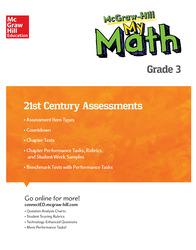 MH My Math 21st Century Assessment Grade 3