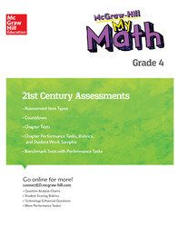 MH My Math 21st Century Assessment Grade 4