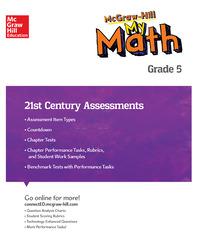 MH My Math 21st Century Assessment Grade 5