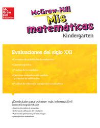 MH My Math 21st Century Assessment Grade K Spanish