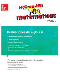 MH My Math 21st Century Assessment Grade 2 Spanish