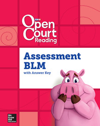 Open Court Reading Foundational Skills Kit, Assessment Annotated Teacher Edition/Blackline Master, Grade K