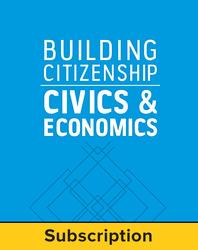 Building Citizenship: Civics and Economics, Teacher Lesson Center with LearnSmart Bundle, 1-year subscription