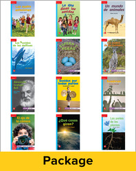 Inspire Science Grade 1, Spanish Leveled Reader Class Set, 1 Each of 12 Titles (On Level)