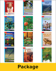 Inspire Science Grade 2, Spanish Leveled Reader Class Set, 1 Each of 12 Titles (On Level)
