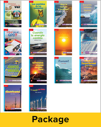 Inspire Science Grade 4, Spanish Leveled Reader Library, 6 Each of 14 Titles (On Level)
