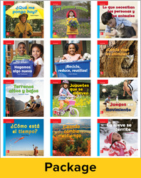 Inspire Science Grade K, Spanish Leveled Reader Class Set, 1 Each of 12 Titles (On Level)