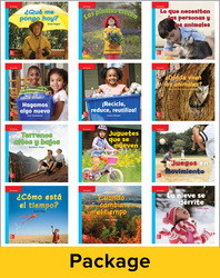 Inspire Science Grade K, Spanish Leveled Reader Library, 6 Each of 12