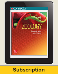 Miller, Zoology © 2016, 10e (Reinforced Binding) Connect®, 1-year subscription