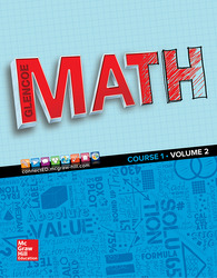 Glencoe Math 2016, Course 1 Student Edition, Volume 2