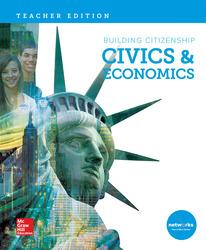 Building Citizenship: Civics & Economics, Teacher Edition