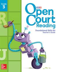 Open Court Reading Foundational Skills Kit, Teacher Guide, Grade 3