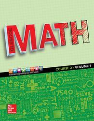 Glencoe Math 2016, Course 2 Student Edition, Volume 1