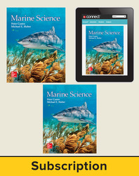 Castro, Marine Science © 2016, 1e, Premium Student Bundle (Student Edition with Connect®, Lab Manual), 1-year subscription