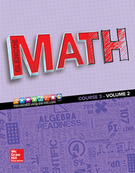 Glencoe Math 2016, Course 3 Student Edition, Volume 2