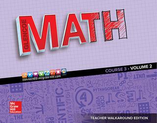Glencoe Math 2016, Course 3 Teacher Edition, Volume 2