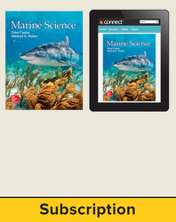 Castro, Marine Science © 2016, 1e, Standard Student Bundle (Student Edition with Connect®), 1-year subscription