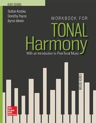 Kostka, Tonal Harmony, 2018, 8e, Workbook