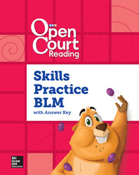 Open Court Reading Foundational Skills Kit, Skills Practice Annotated Teacher Edition/Blackline Master, Grade K